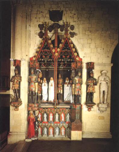 Monument des Comtes et des Comtesses de la Collégiale de Neuchâtel