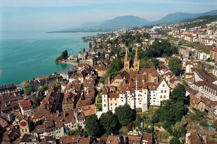 Le Château et la Collégiale de Neuchâtel